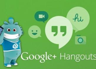 Google Hangouts servicio de mensajería