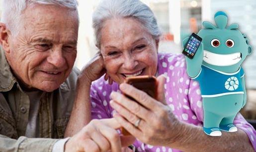 Aplicaciones móviles para personas mayores