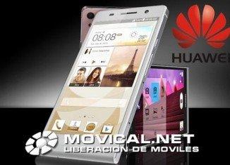 Liberar Huawei Ascend P6