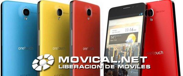 Desbloquea tu alcatel touch idol x y elige tu nueva compa a - Movical net liberar ...
