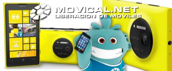 Libera tu nokia lumia 1020 con el equipo profesional de - Movical net liberar ...