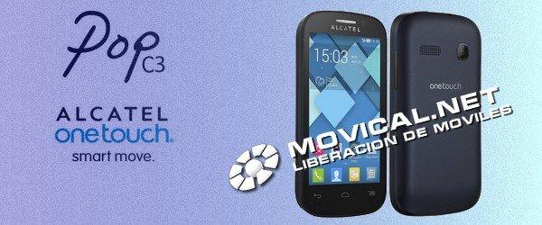 Ya puedes liberar tu alcatel ot 4033 pop c3 por imei - Movical net liberar ...