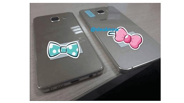 Galaxy A5 y A3 2016