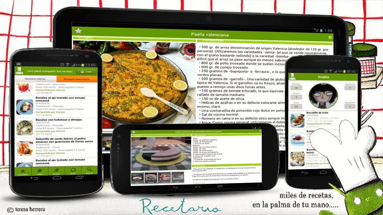 Estas son las mejores apps de cocina para android blog for App para disenar cocinas