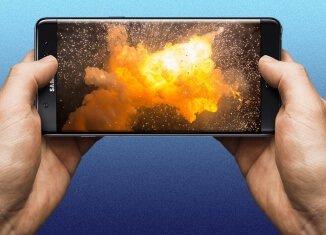 ¡Peligro! El Samsung Galaxy Note 7 tiene un fallo que podría hacerlo explotar
