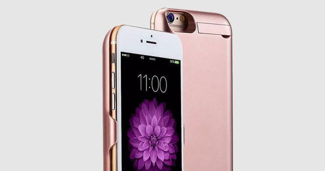 Extra de batería para iPhone