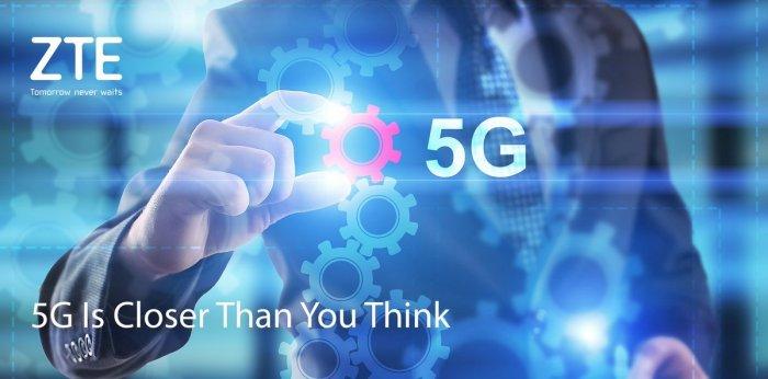 ZTE Gigabit: El primer móvil 5G será presentado durante el MWC 2017