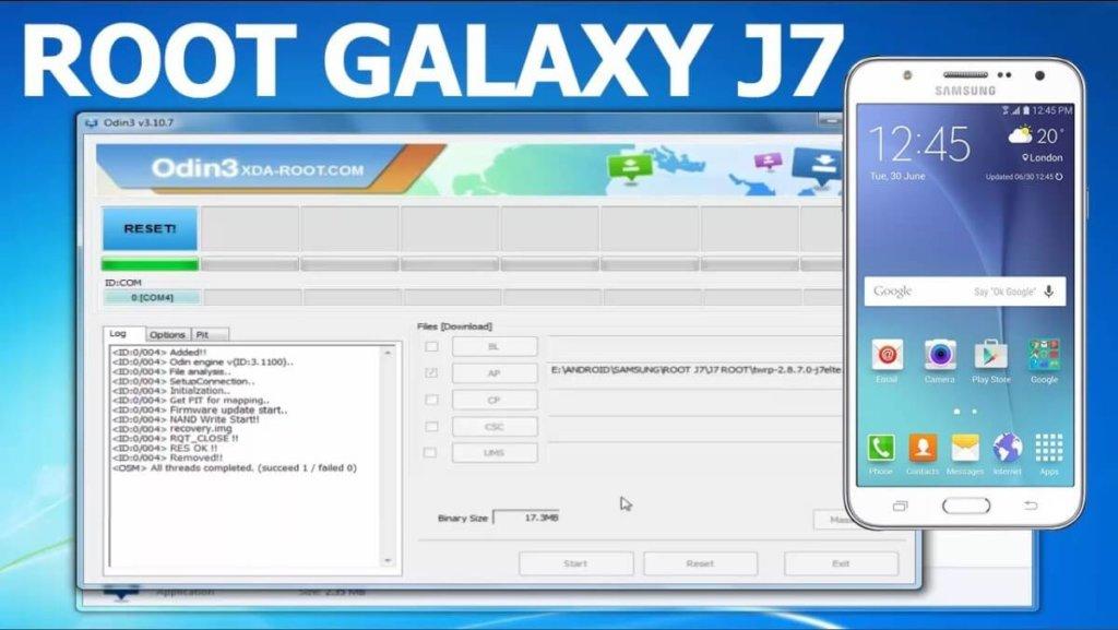 Cómo hacer root al Samsung Galaxy J7 SM-J700M