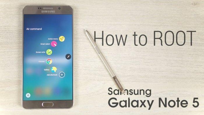 Cómo hacer root al Samsung Galaxy Note 5 SM-N920T