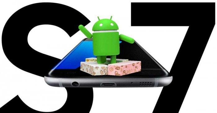 Actualizar el Samsung Galaxy S7 a Android 7 Nougat