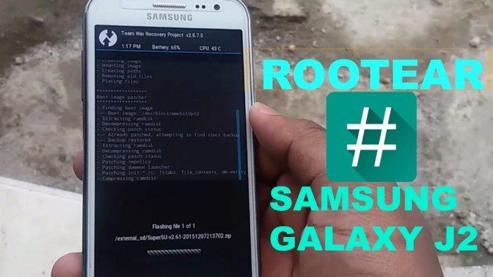 Cómo rootear el Samsung J2 con Android 6.0.1 Marshmallow