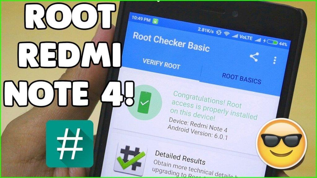 Rootear el Xiaomi Redmi Note 4X