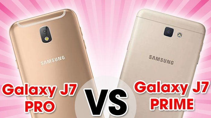 Samsung Galaxy J7 Prime vs Galaxy J7 Pro