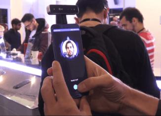 reconocimiento facial del Huawei P11