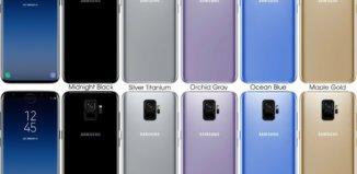 especificaciones de los Samsung S9 y S9 Plus