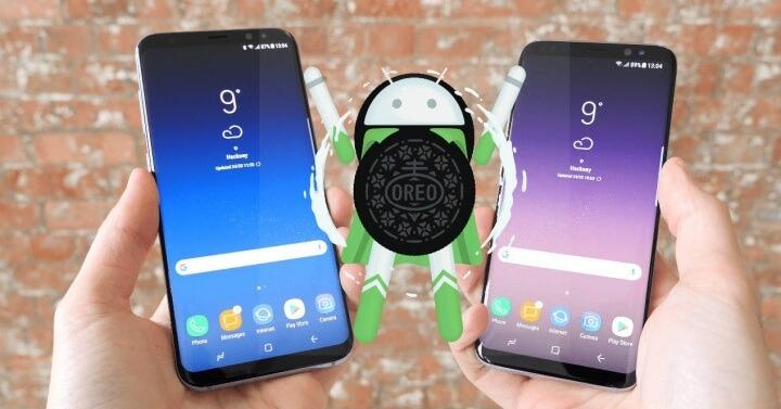 Android Oreo en el Galaxy S8
