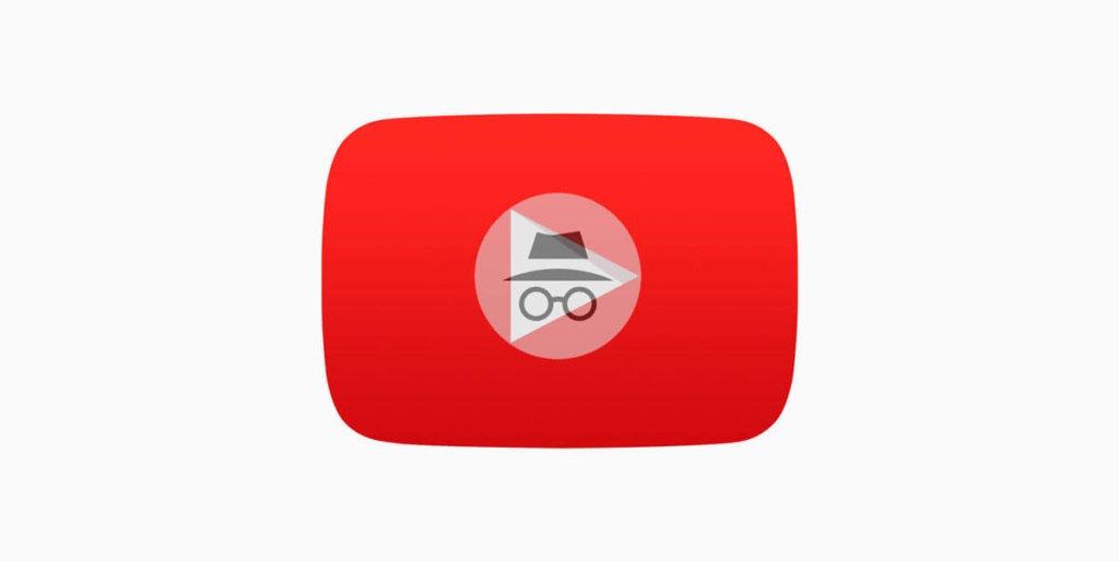 Ver vídeos de YouTube en modo incógnito