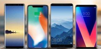 Los mejores móviles del mercado 2018