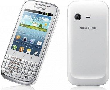 Samsung Galaxy Chat con teclado
