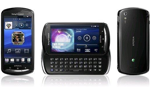 Sony Xperia Pro con teclado