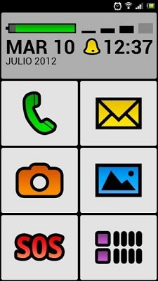 Big Launcher para Android