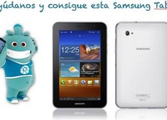 Sorteo Samsung Galaxy Tab 7.0
