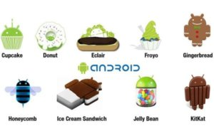 Android-Version-history