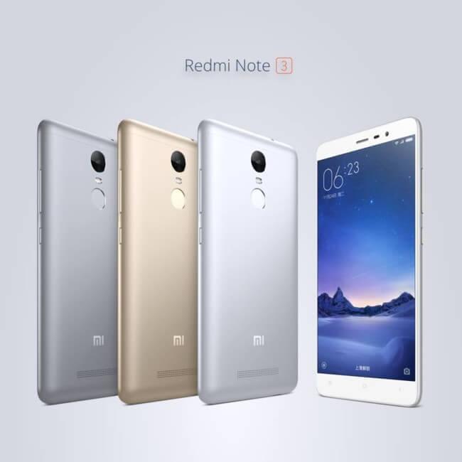 Xioami Redmi Note 3