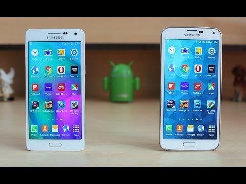 Samsung Galaxy A5 vs S6