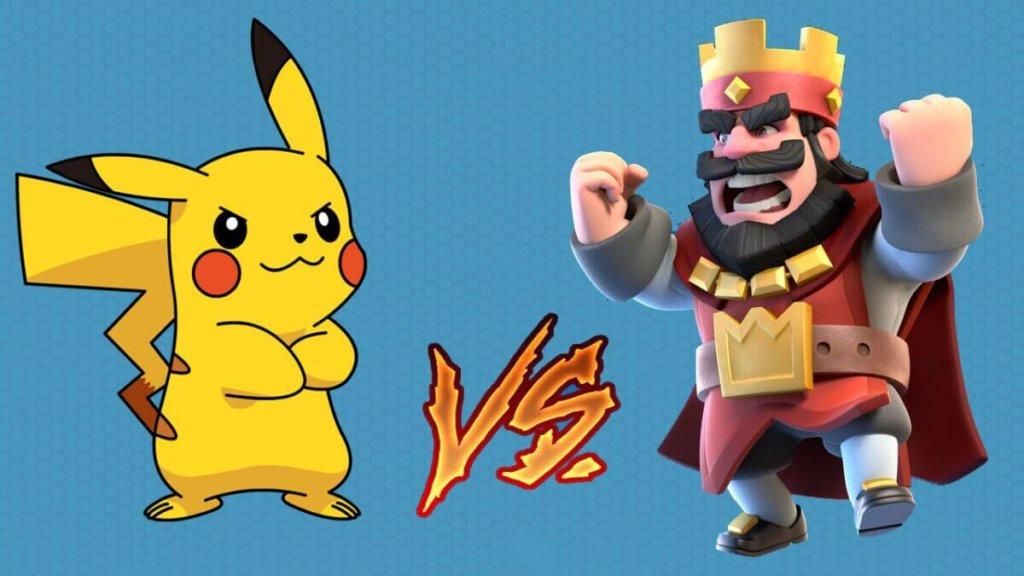 Pokemon Go destronado por Clash Royale
