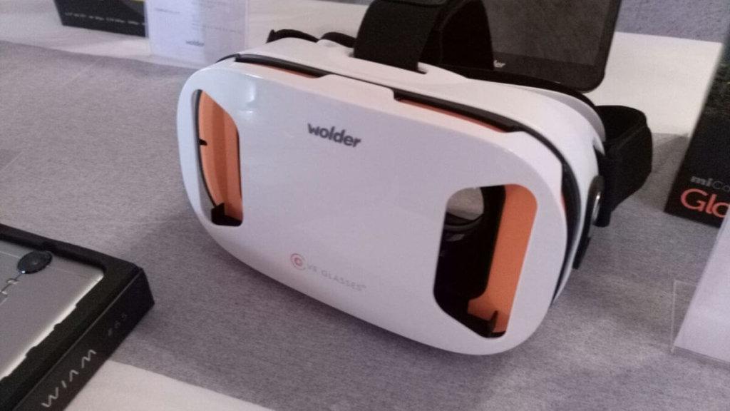 Llegaron las Wolder VR: realidad virtual para todos