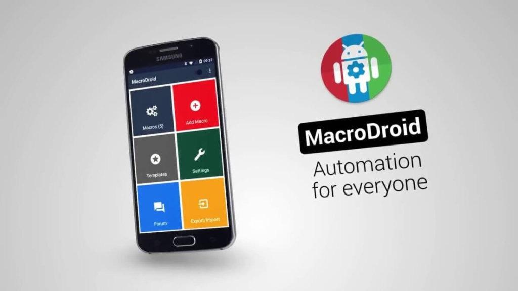 Automatizar tu Android con MacroDroid