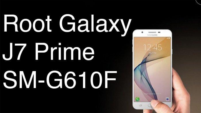 Rootear el Samsung J7 Prime SM-G610M