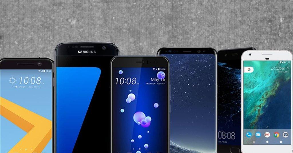 Los mejores móviles de 2017
