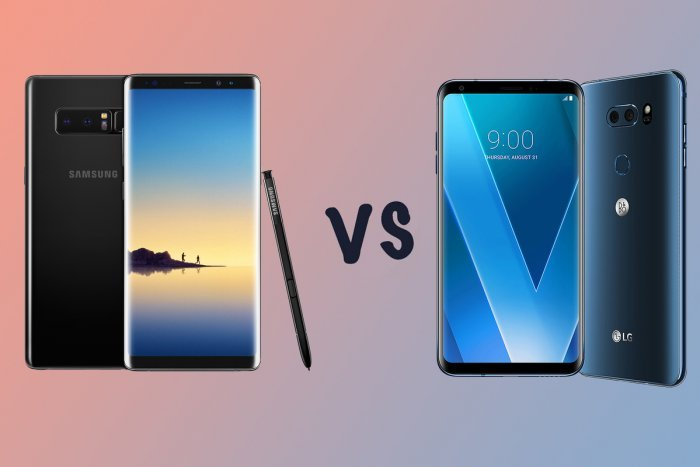 LG V30 vs Samsung Galaxy Note 8