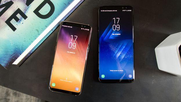 batería de los Samsung Galaxy S8 y S8+