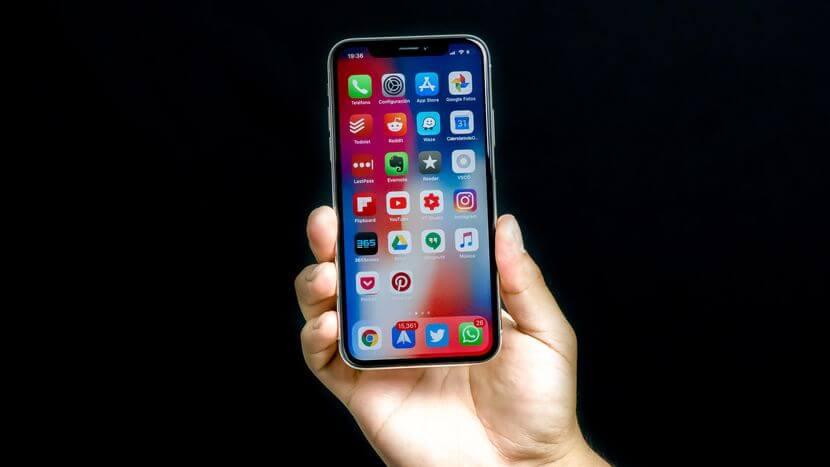 uso del iPhone