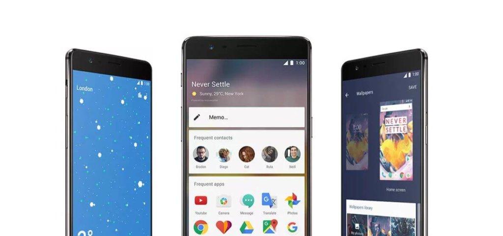 Android Oreo en OnePlus