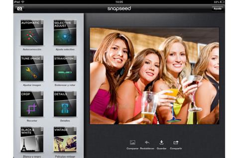 retocar fotografías en iOS
