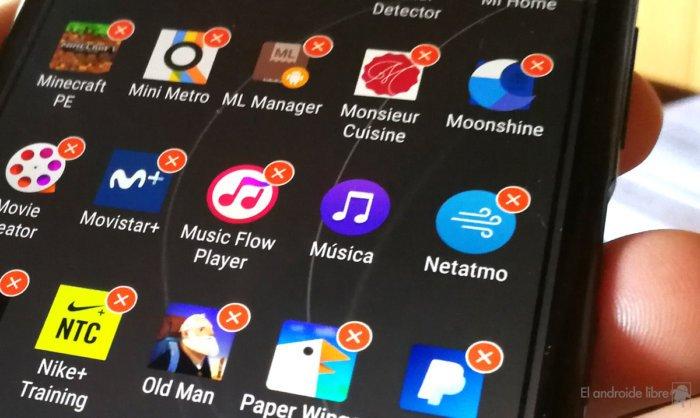desinstalar apps del sistema sin ser usuario root
