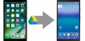 cambiar de iPhone a Android y llevarte todos los datos