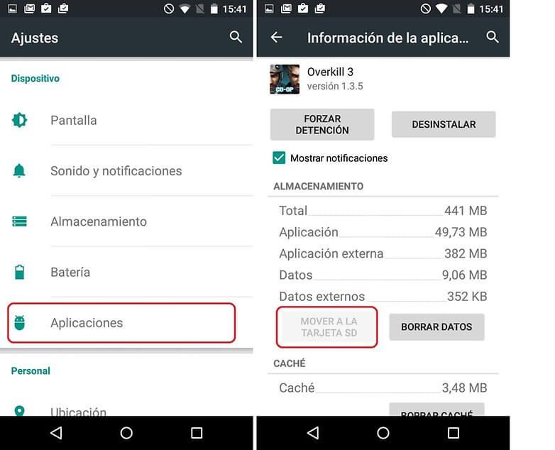 Cómo solucionar problemas de memoria insuficiente en Android