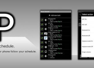 Automatizar tareas con Phone Schedule