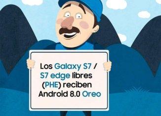 solucionar el error al instalar Android Oreo en los Galaxy S7