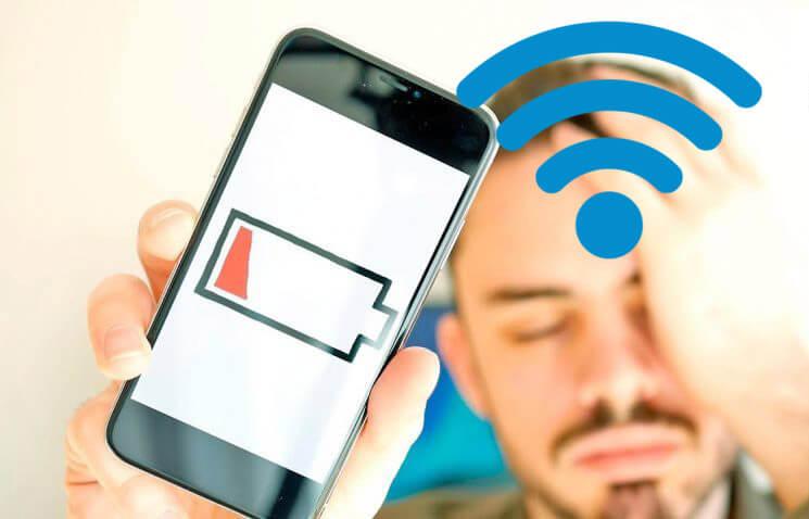 gastar menos batería al usar el WiFi