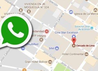 localizar a alguien con WhatsApp