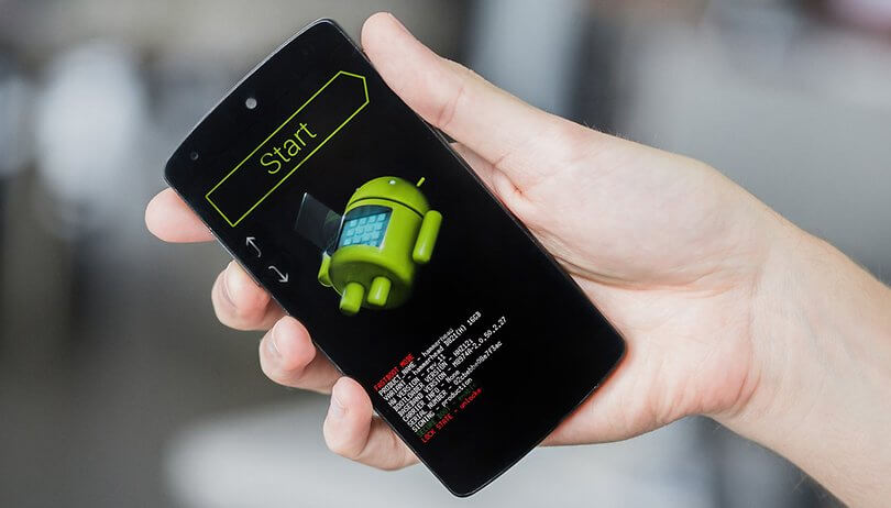 restablecer un teléfono Android sin perder datos