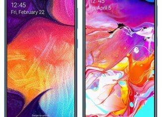 Galaxy A70 y A50
