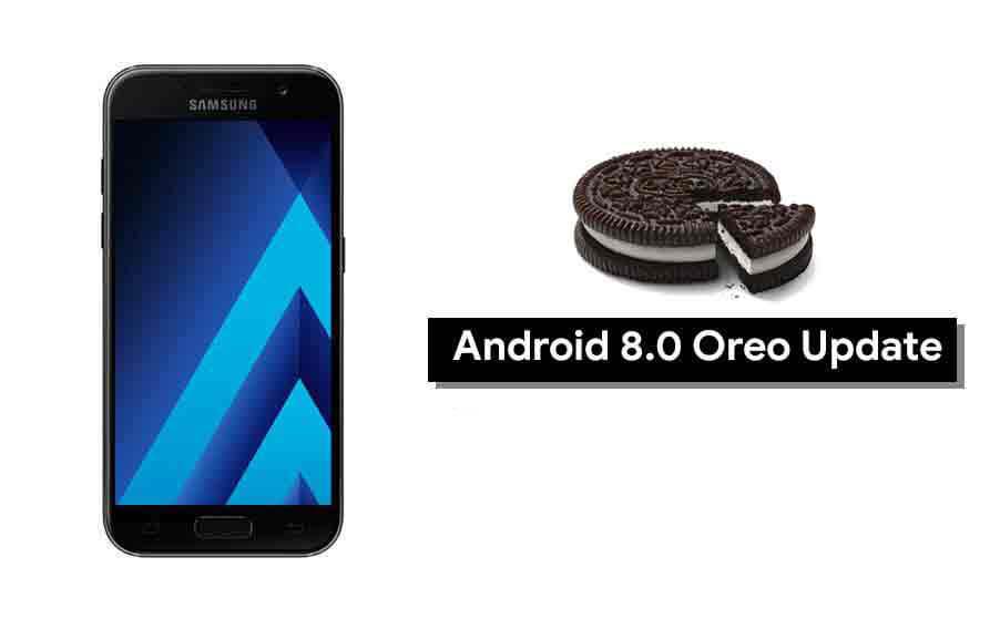 Samsung Galaxy A3 a Android Oreo