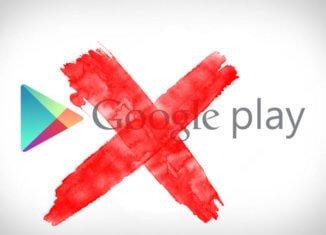 errores de conexión de Google Play